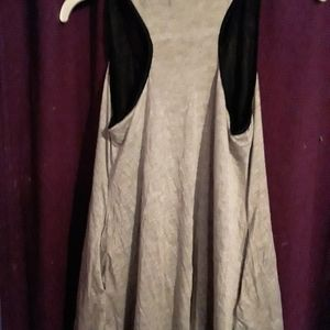 Like new ladies tank top longer and has a little f